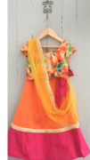 Colourful Stylish Lehenga